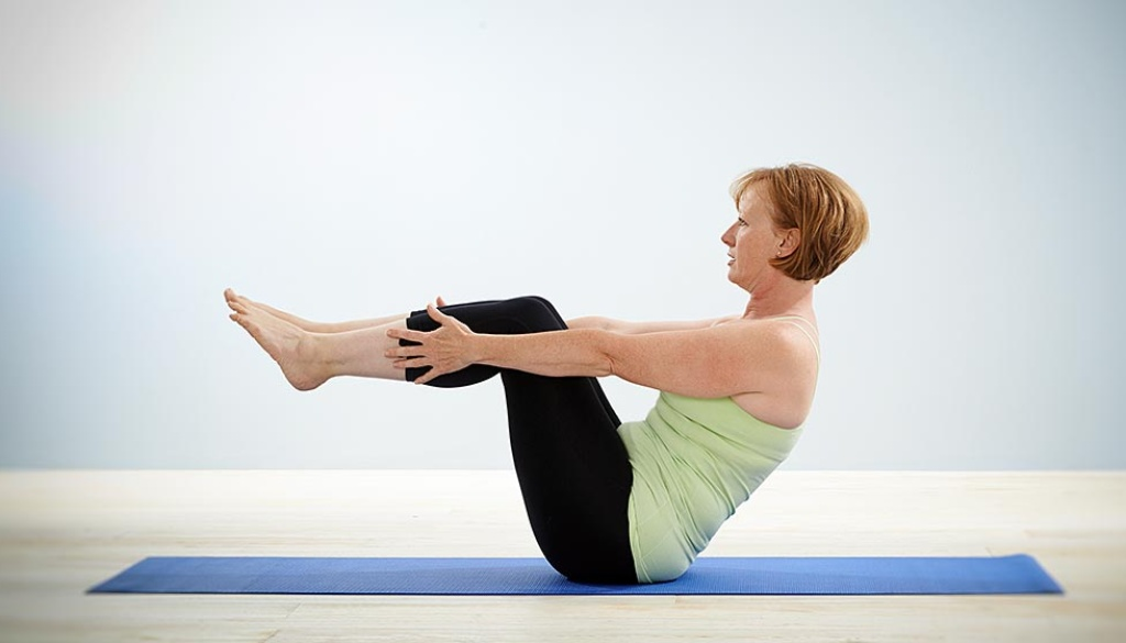 Bev Grant, fully qualified Pilates instructor and founder of Positive Pilates