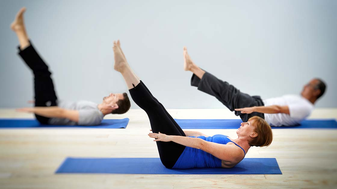Bev Grant Positive Pilates group classes