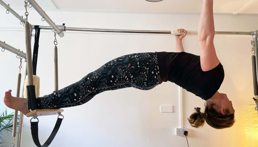 Pilates Cadillac in use