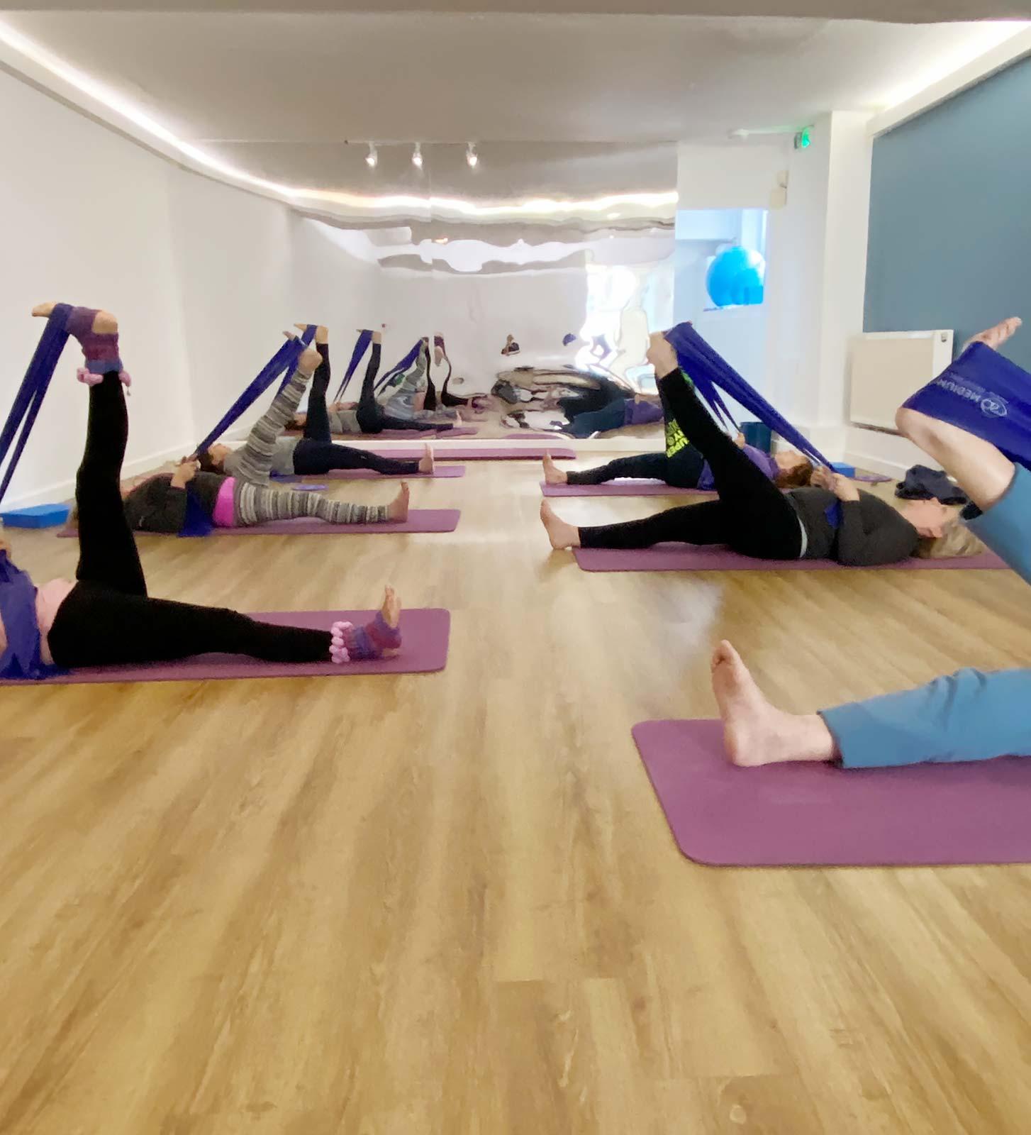 Pilates class at The Studio @53