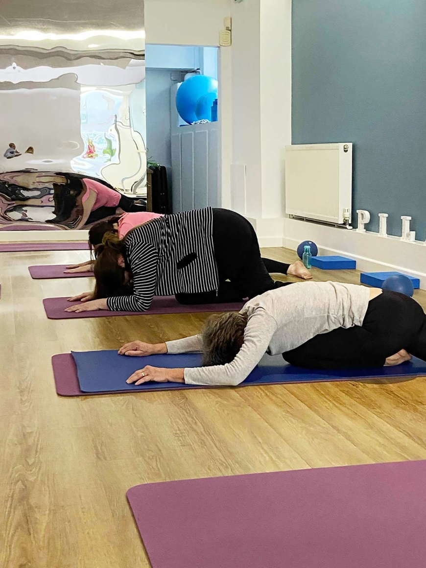 Pilates class at The Studio @53