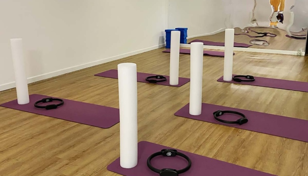 Ready for the next Pilates class at The Studio @53