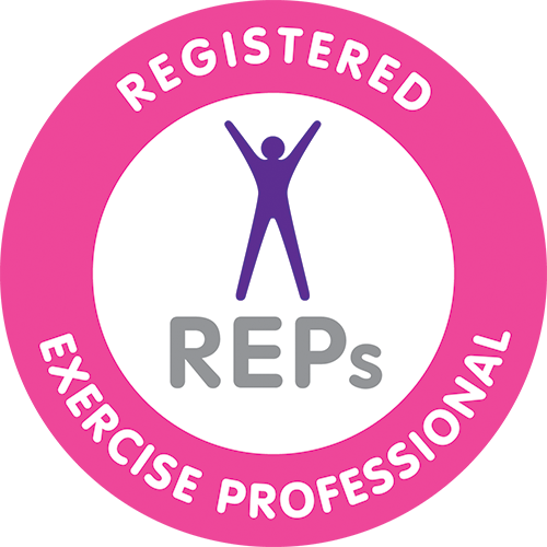 Registered Exercise Professional Official Badge