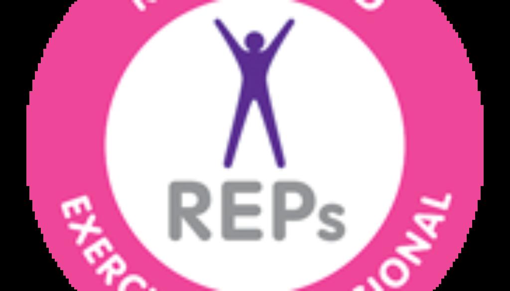 REPs Registered Exercise Professional Logo